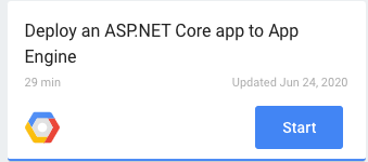 Deploy an ASP.NET Core app to App Engine codelab